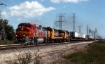 ATSF 102, 7438, and 4004 on the QNYLA